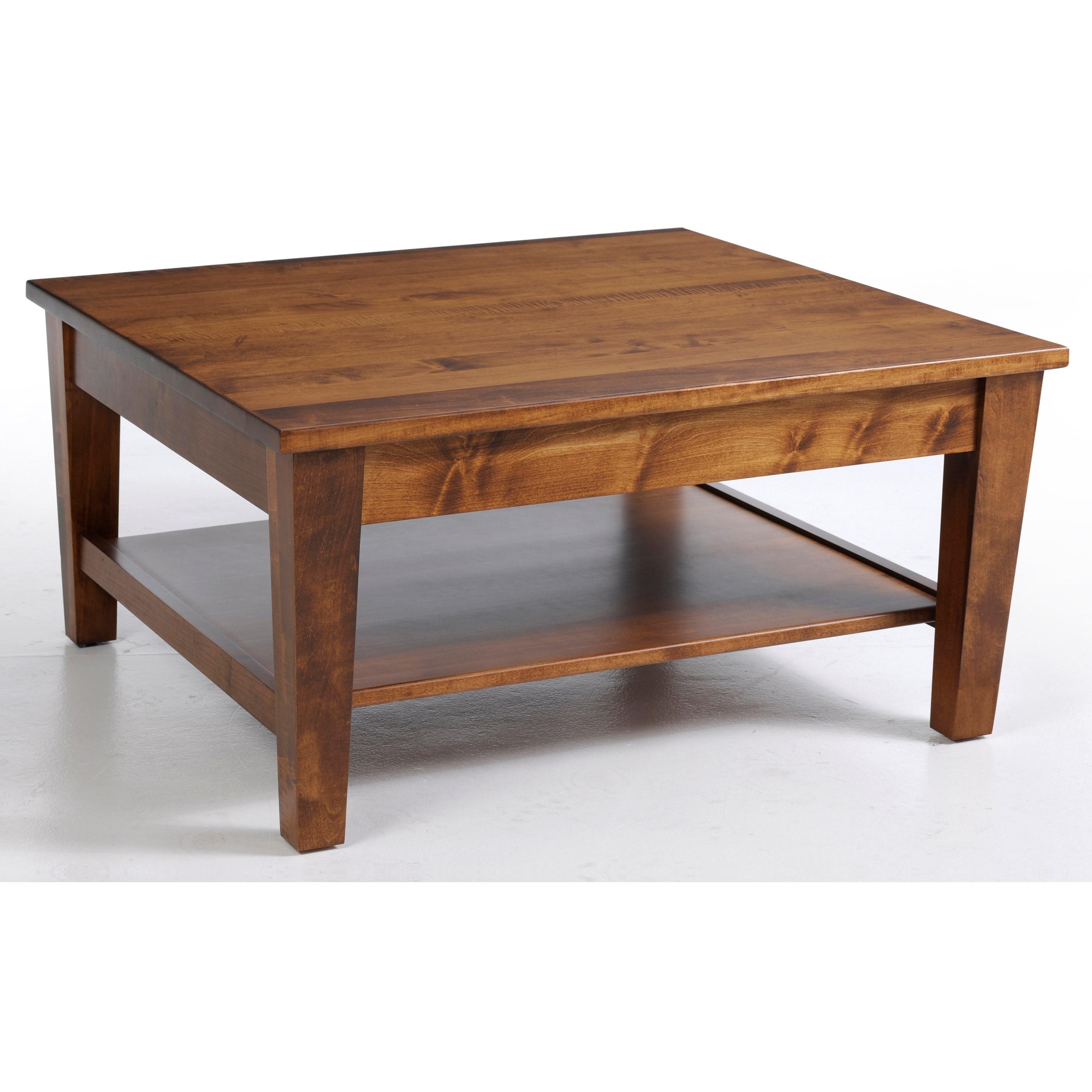 Y U0026 T Woodcraft Urban ShakerSquare Coffee Table