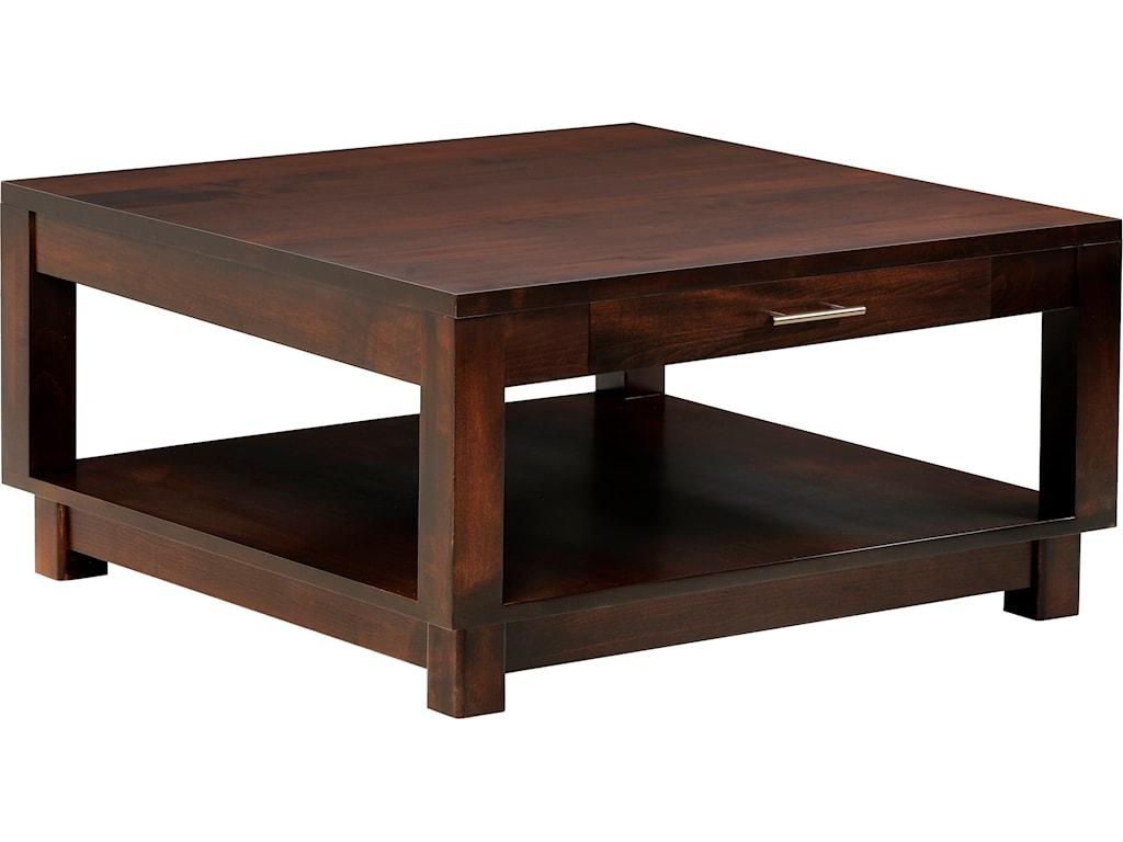 Y & T Woodcraft UrbanSquare Coffee Table