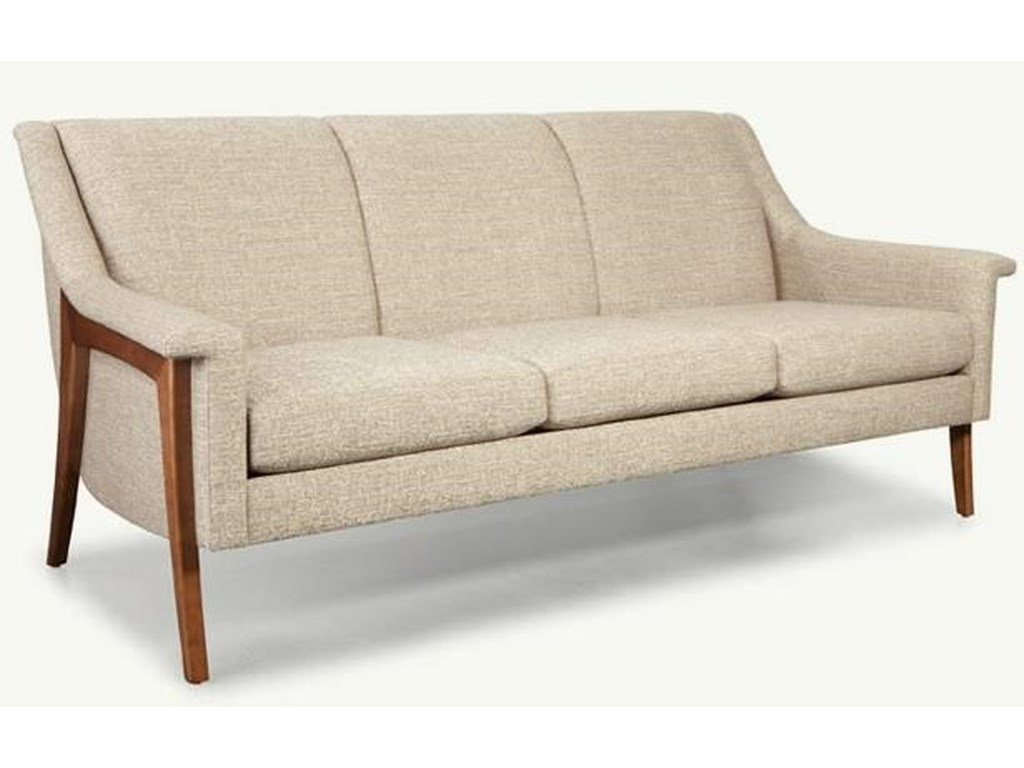 Younger Muse Mid Century Modern Sofa | Saugerties Furniture ...