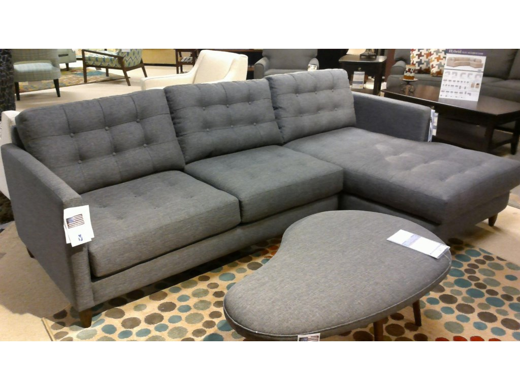 Younger James Contemporary Sectional Dunk Bright Furniture - Younger sofa
