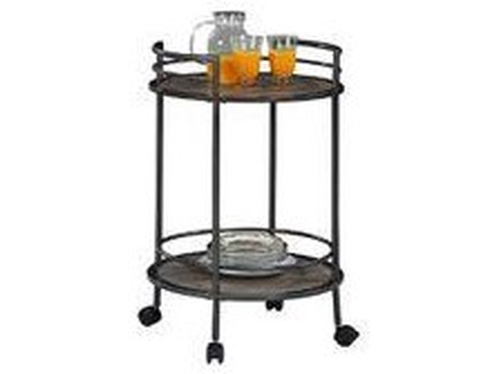 Z-Line Designs Accent TablesRound Bar Cart