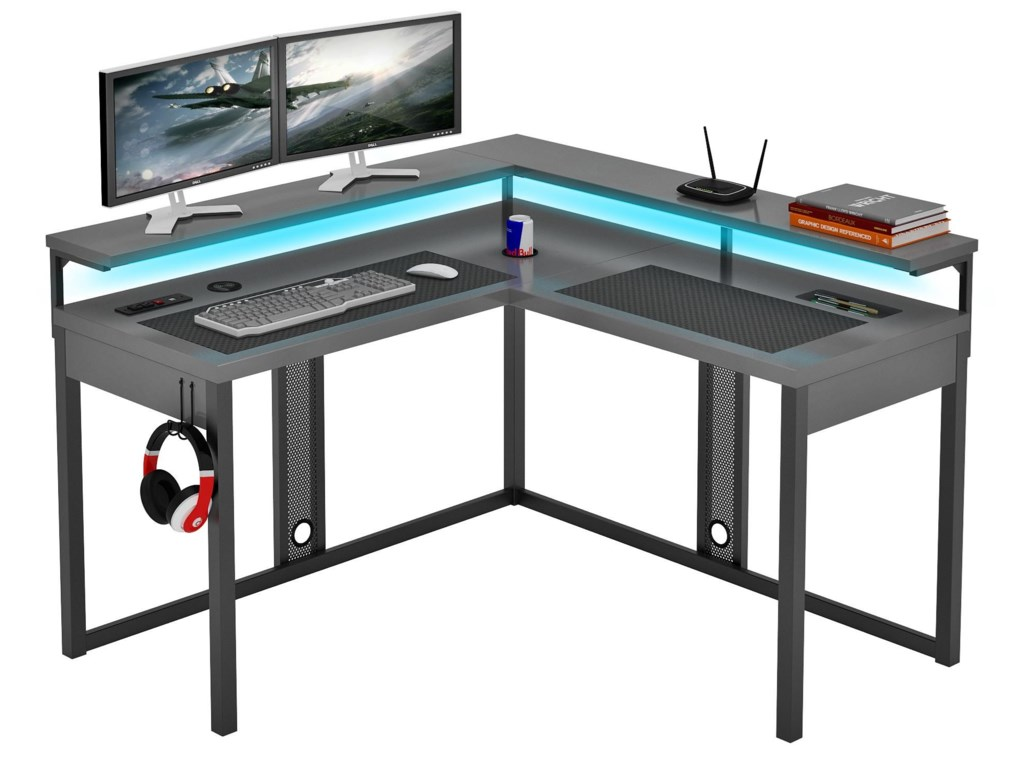 Desks Zld0001 1ldu L Shaped Gaming Desk