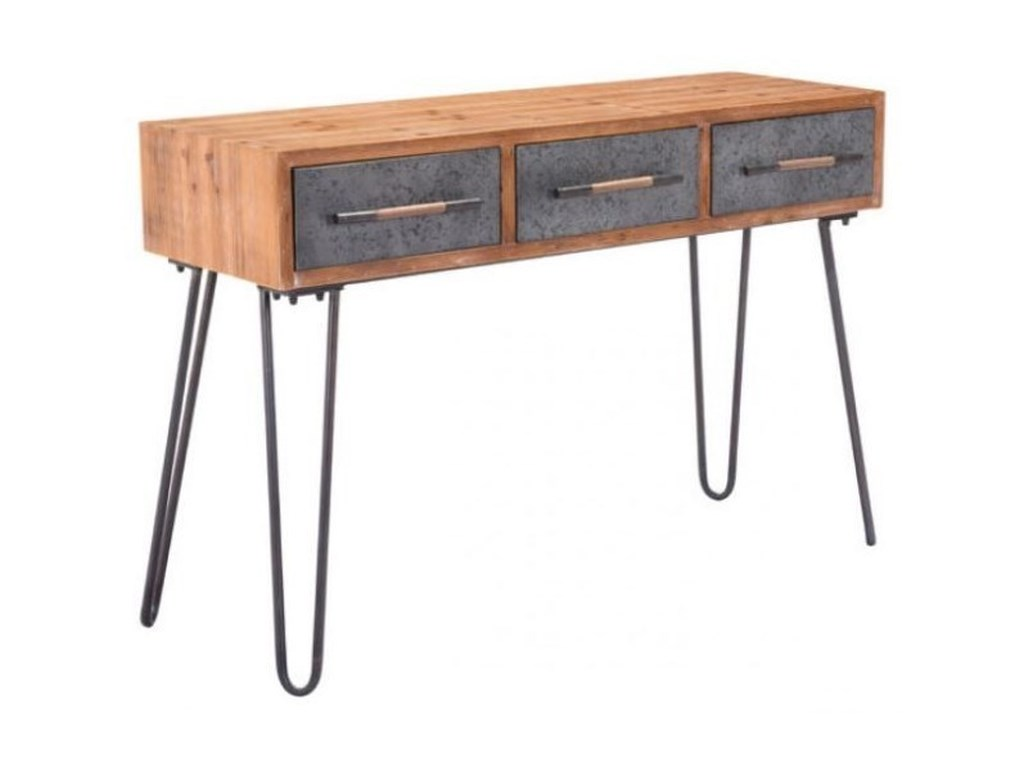 Zuo Accent TablesMetal Console Table