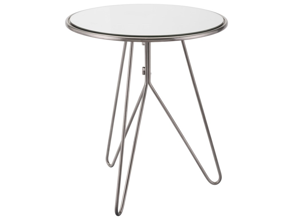 Zuo Accent TablesMirrored End Table