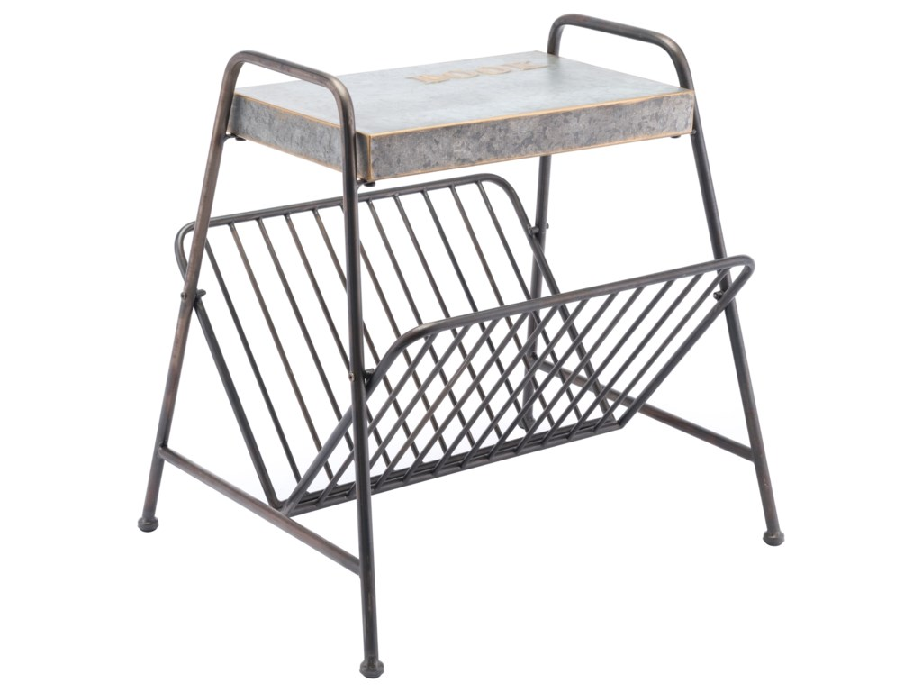 Zuo Accent TablesMetal Magazine Rack