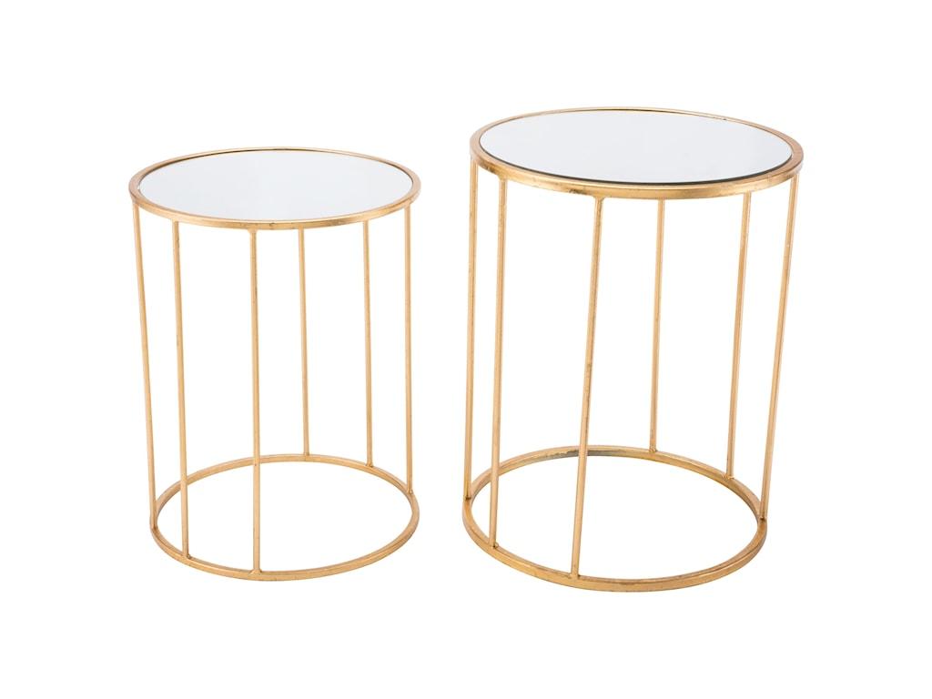 Zuo Accent TablesFinita Set 2 Nesting Round Tables