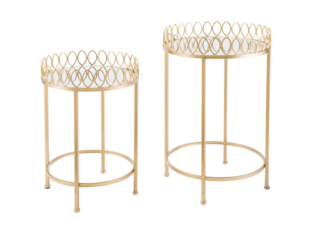 Zuo Accent TablesSet of 2 Tray Tables