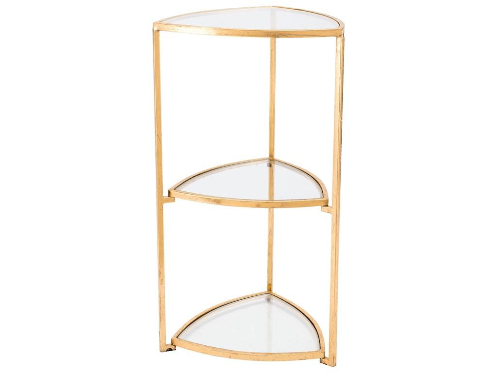 Zuo Accent TablesCorner Tri Level Table