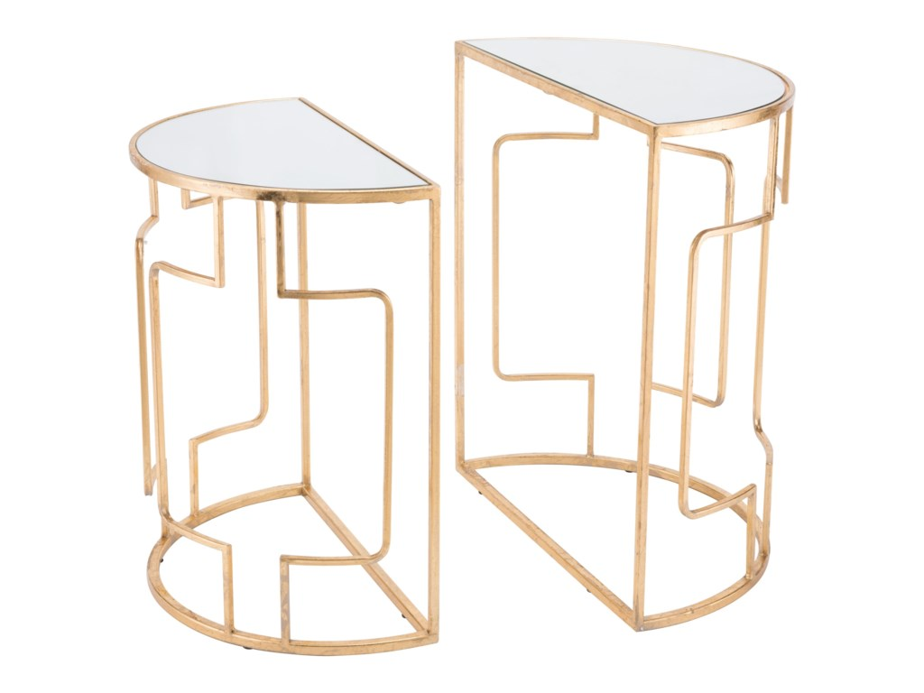 Zuo Accent TablesRoma Set of 2 Side Tables