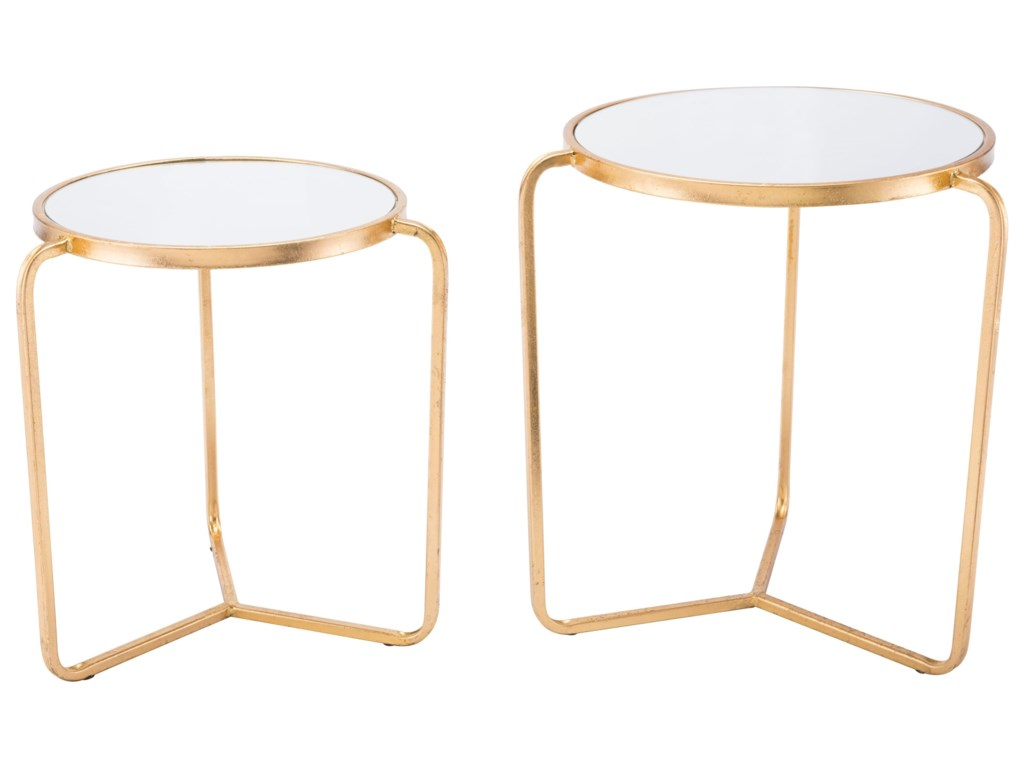 Zuo Accent TablesSet of 2 Tripod Tables