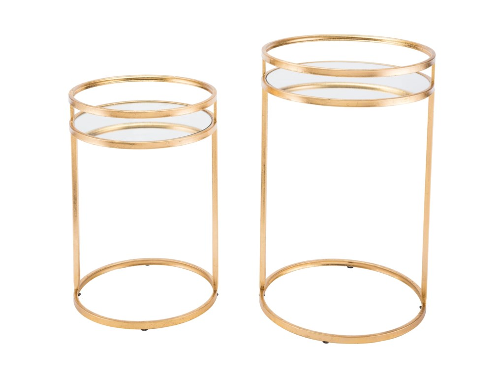 Zuo Accent TablesSet of 2 Nesting Tables
