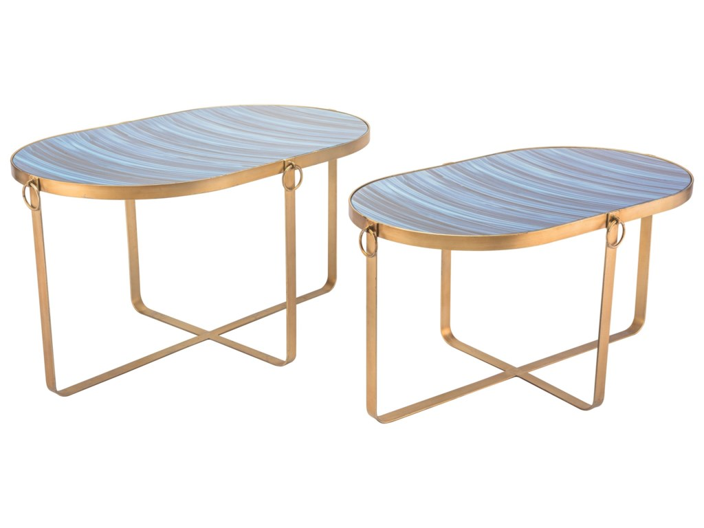 Zuo Accent TablesZaphire Set of 2 Tables