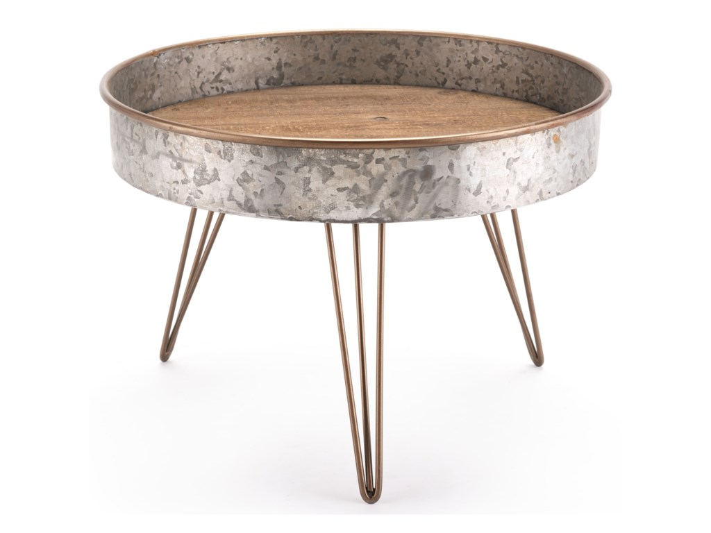 Zuo Accent TablesZinc Round Table Large