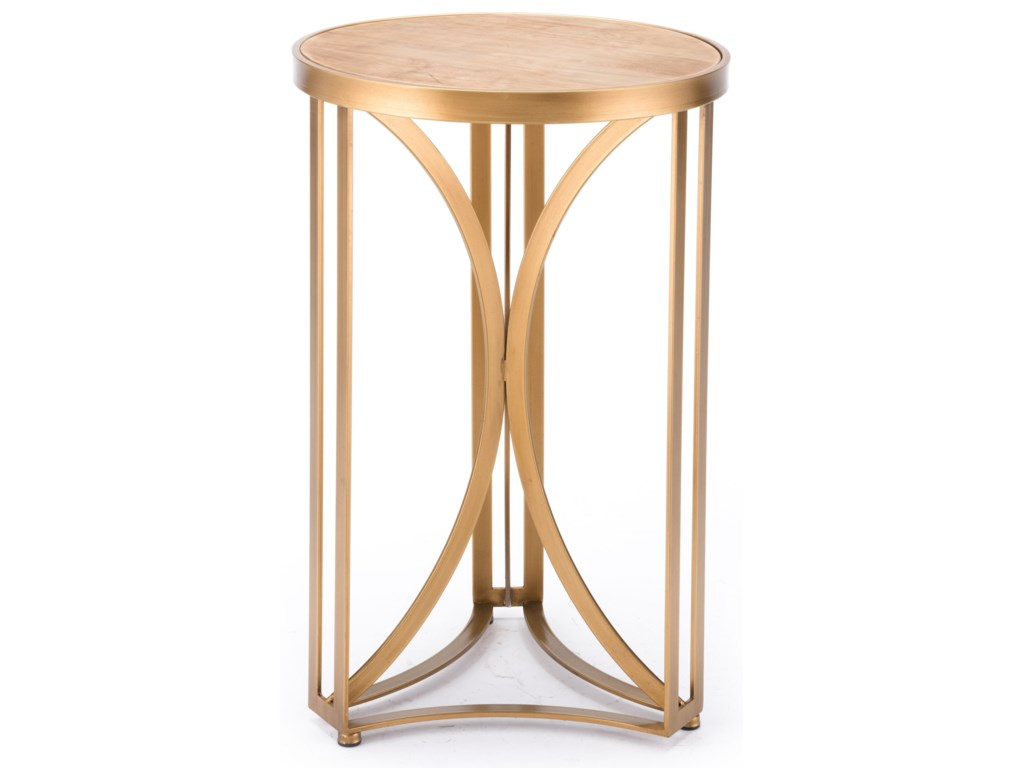 Zuo Accent TablesSpinner Table Small
