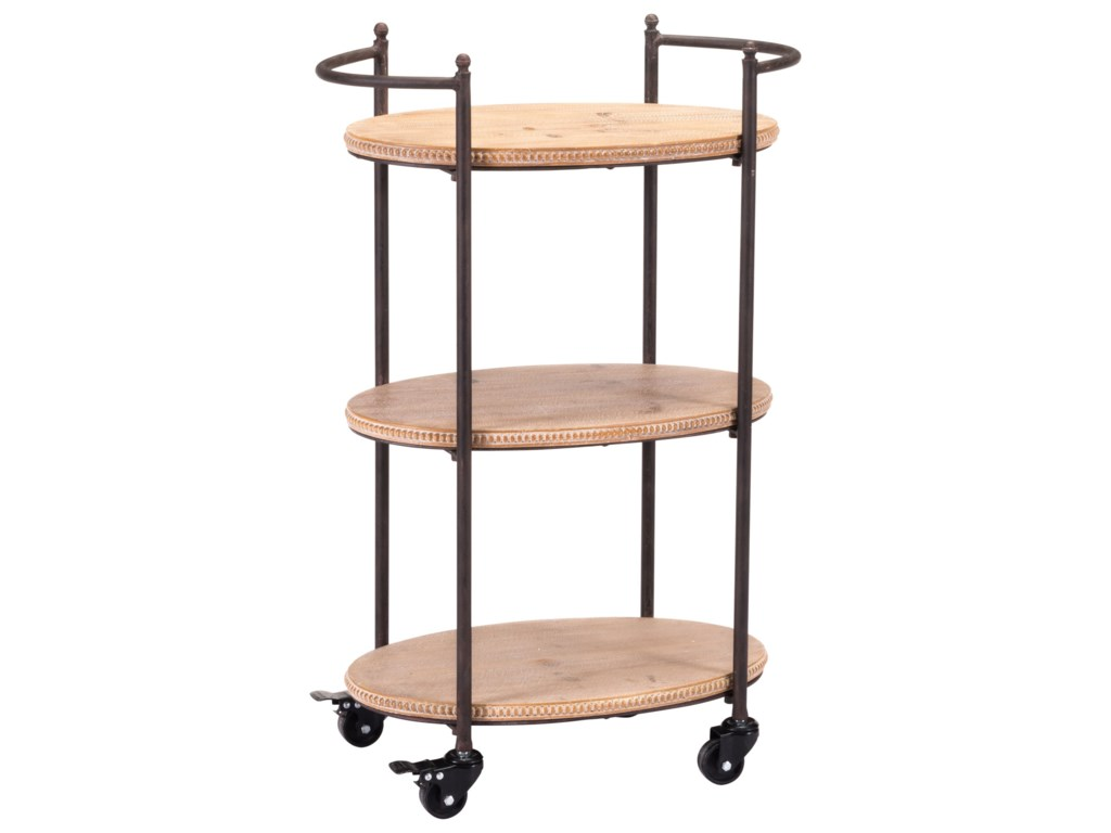 Zuo Accent TablesTri Level Bar Cart