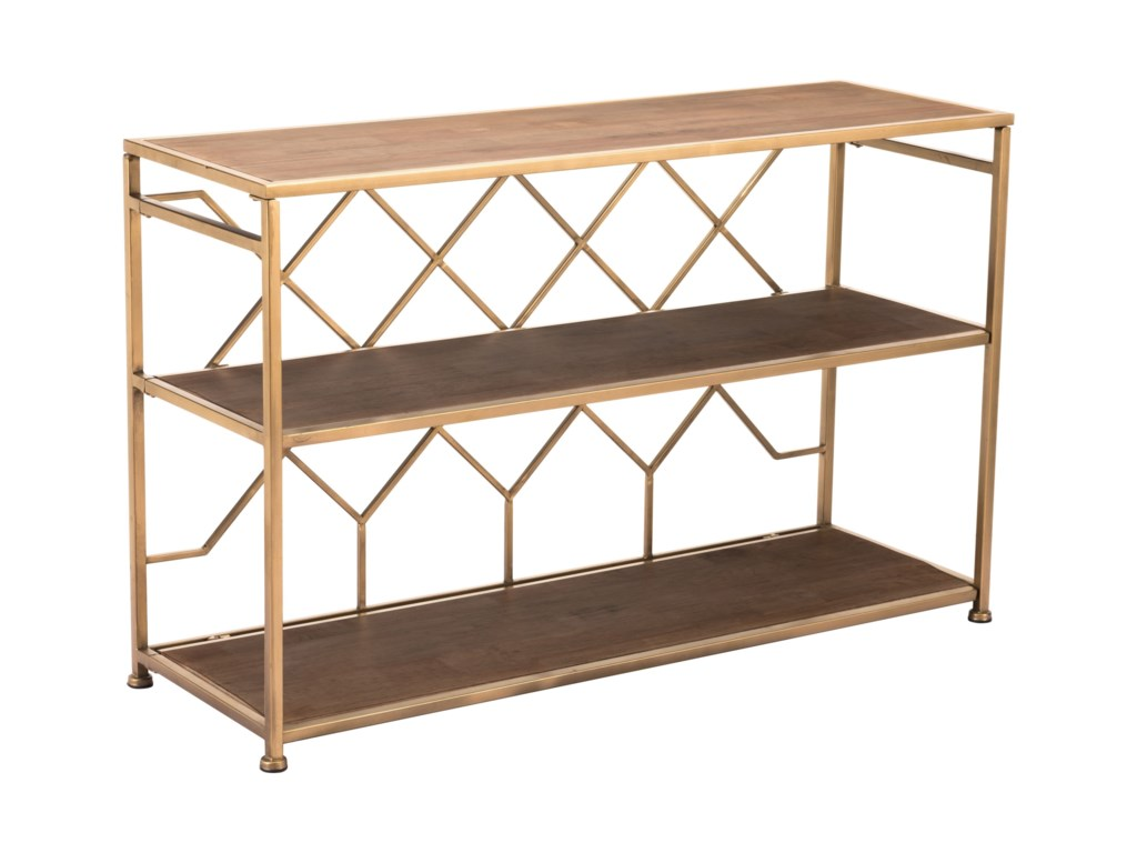 Zuo Accent TablesEquis Console Table