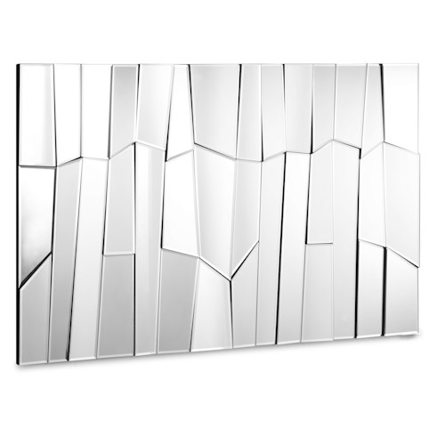 Zuo Accessory Faceted Landscape Mirror