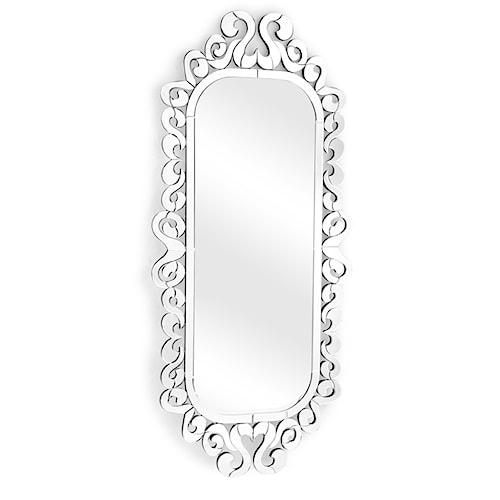 Zuo Accessory Fusion Frame Vertical Mirror