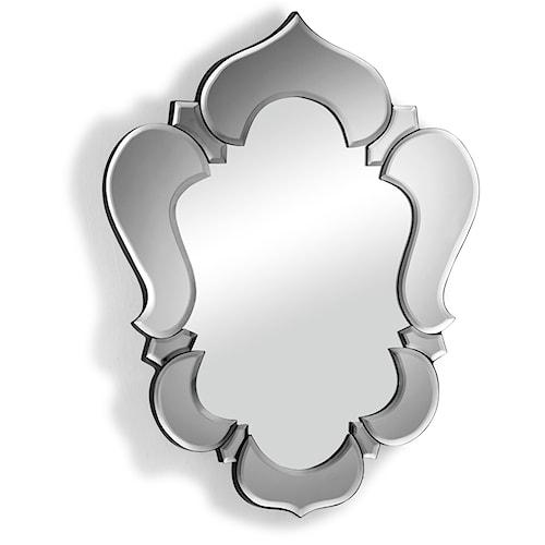 Zuo Accessory Lotus Frame Mirror