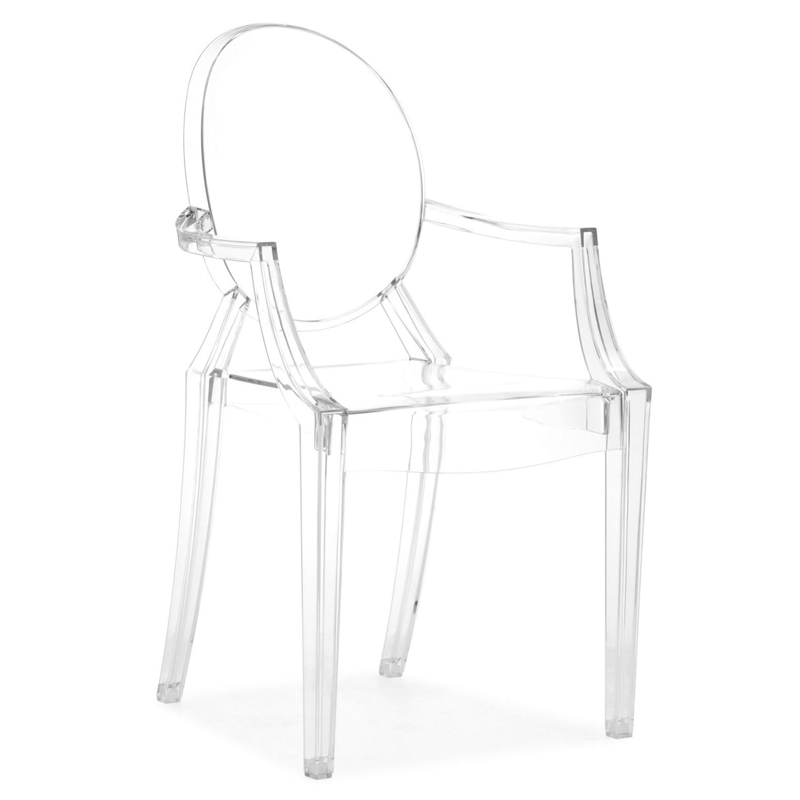 Zuo BarAnime Acrylic Chair Set Of 5