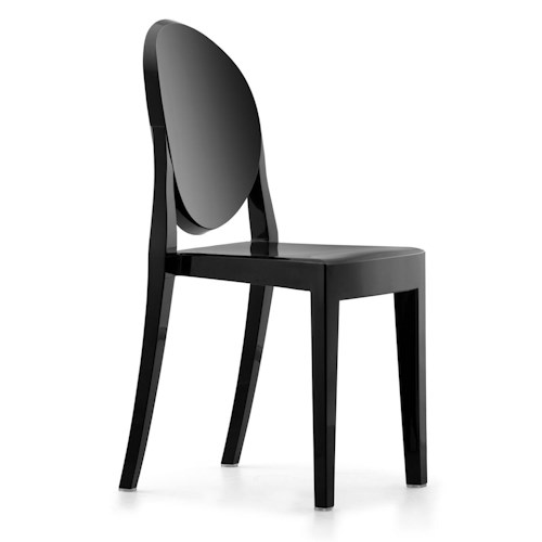 Zuo Bar Set of 4 Acrylic Dining Side Chairs