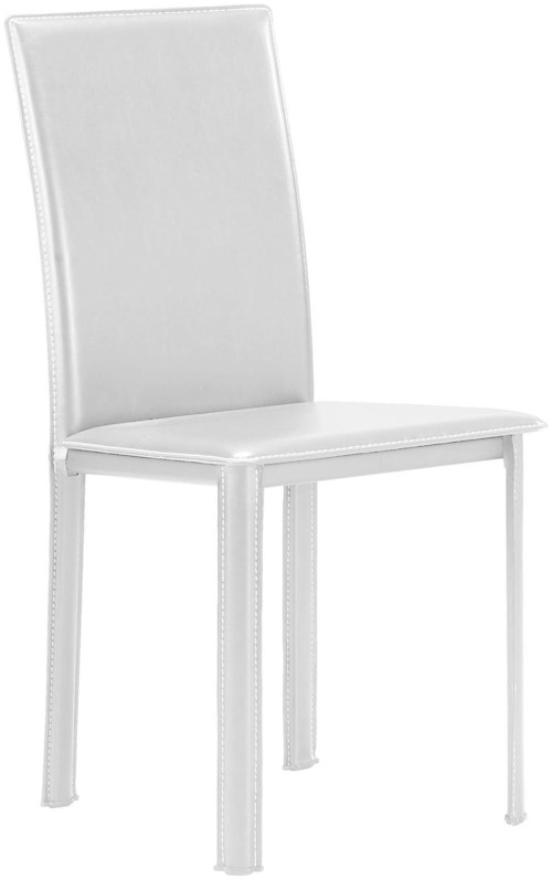 Zuo Bar Set of 4 Leatherette Dining Side Chairs