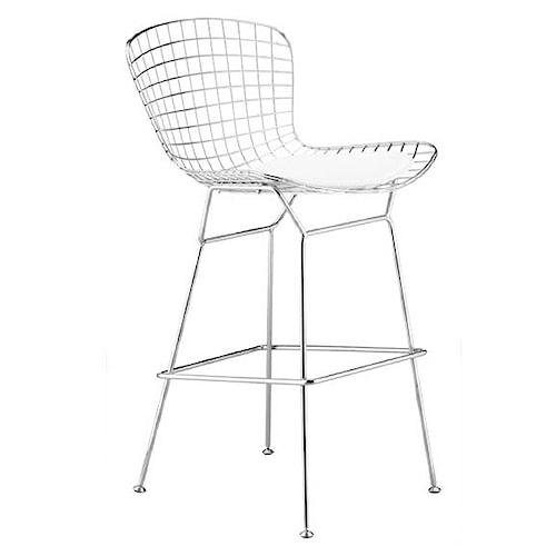 Zuo Bar Steel Wire Bar Chair
