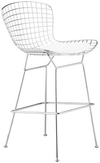 Zuo Bar Steel Wire Bar Chair