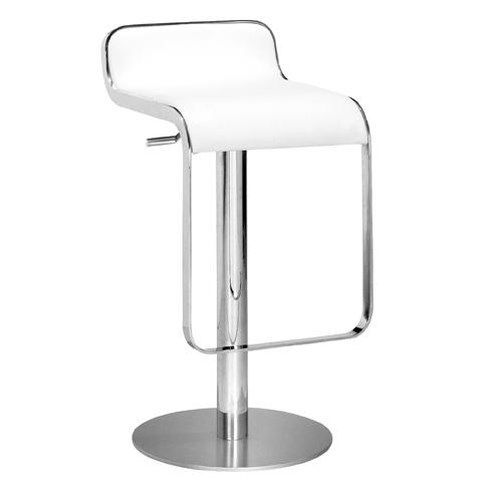 Zuo Bar Low Seat Back Barstool with Adjustable Lift