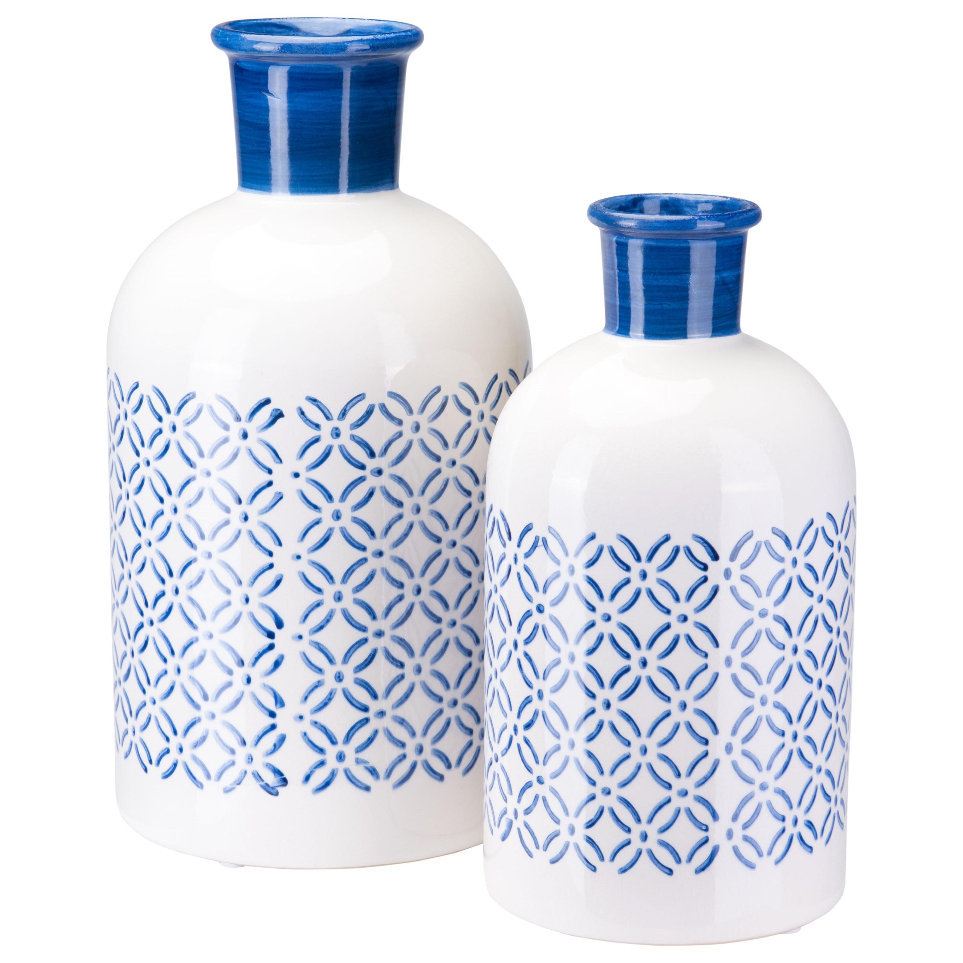 Tall White Zuo Modern A10250 Zuo Cal Bottle