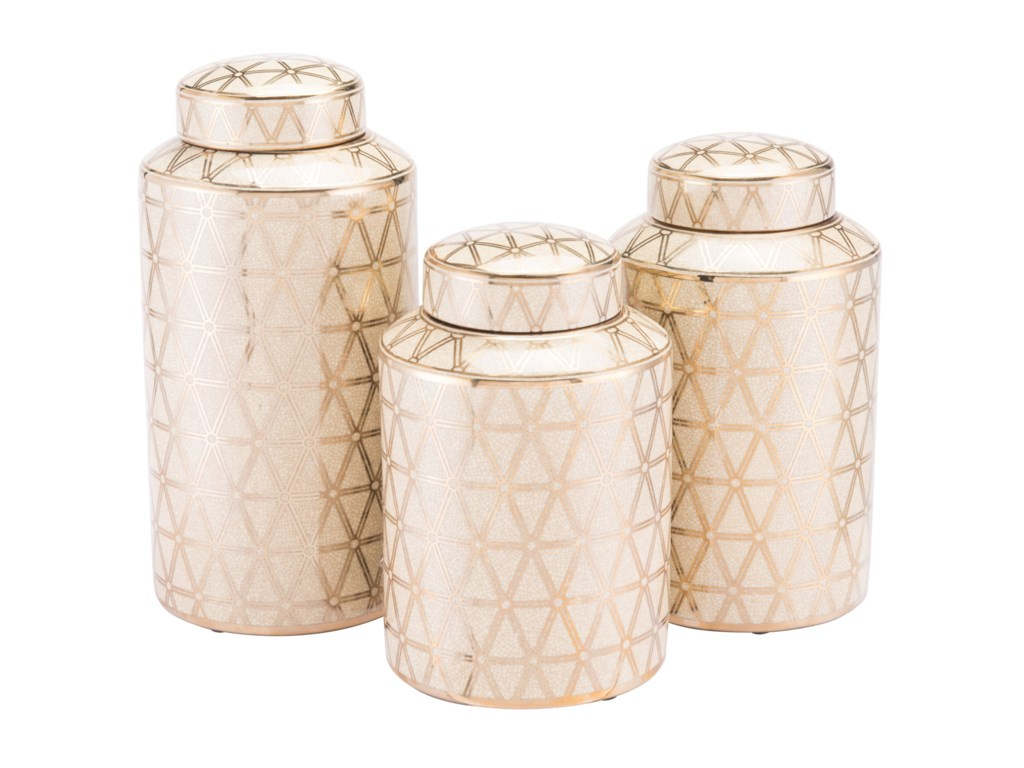 Zuo Bottles and JarsLink Covered Jar Small