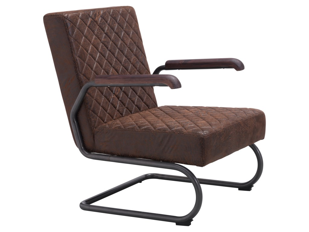 Zuo FatherLounge Chair Set