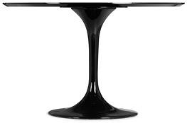 Zuo Modern Dining Accents Tulip Base and Bevel Edge Round Top Dining Table