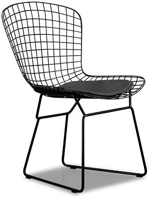 Zuo Modern Dining Accents Ultra Modern Wire Grid Side Chair