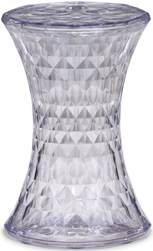Zuo Occasional Collection Prisma Transparent Stool