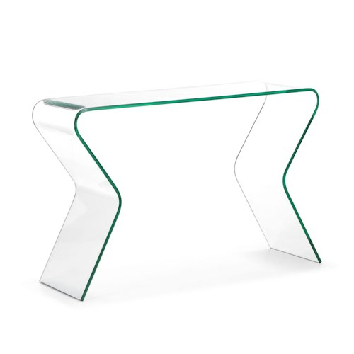 Zuo Occasional Collection Respite Glass Console Table