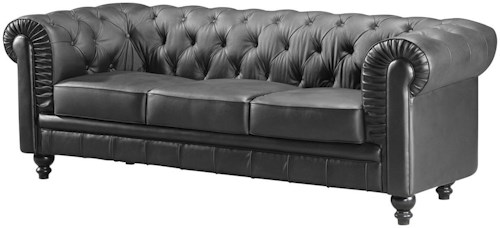 Zuo Occasional Collection Aristocrat Tufted Stational Sofa