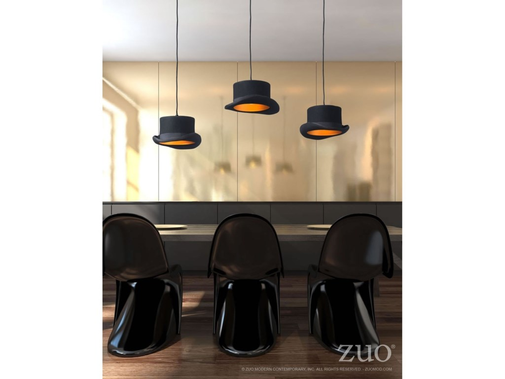 Pure Lighting Aspiration Ceiling Lamp By Zuo At Del Sol Furniture