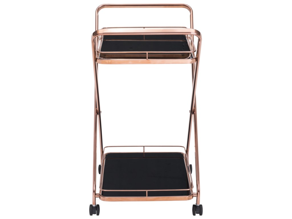 Zuo VesuviusServing Cart