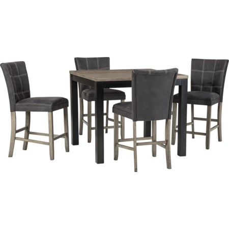 5-Piece Counter Table Set