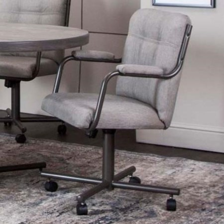 Caster Dining Arm Chair