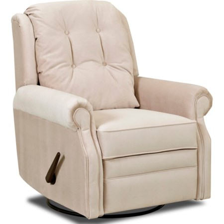 Manual Swivel Rocking Reclining Chair