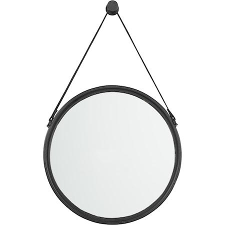 Dusan Black Accent Mirror