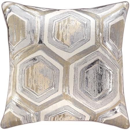 Meiling Metallic Pillow