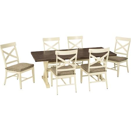7-Piece Outdoor Dining Set