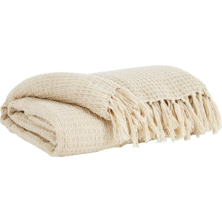 Rowena Cream Throw