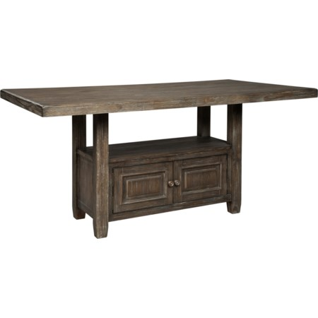 Rectangular Counter Table w/ Storage