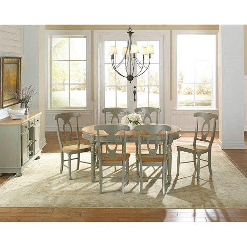 aamerica british isles casual dining room group conlin 39 s. Black Bedroom Furniture Sets. Home Design Ideas
