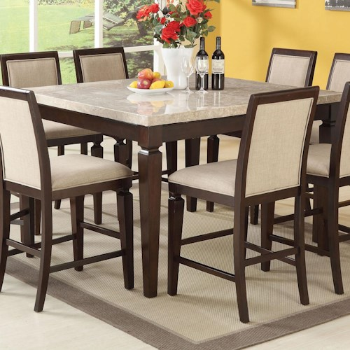 Acme Furniture Agatha Counter Height Table Nassau