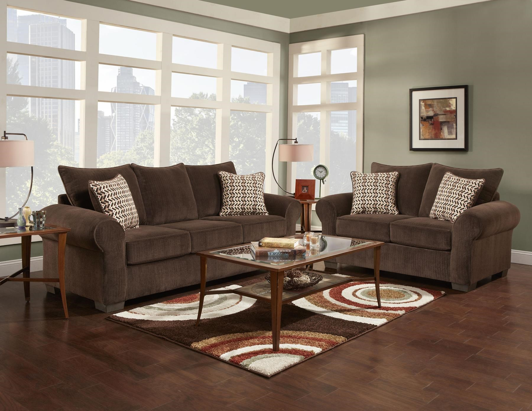 Affordable Furniture 7300 Stationary Living Room Group